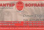 Antep Sofrasi - Anatolische Küche