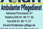 Aslan Ambulanter Pflegedienst GmbH in Berlin