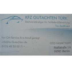 Kfz Gutachter Türk